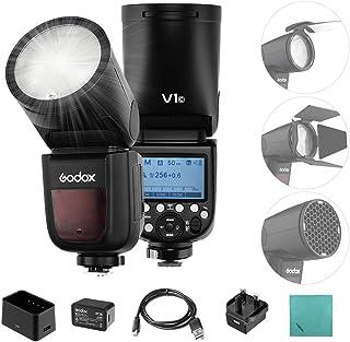 كاميرا Godox V1C الاحترافية ذات إضاءة سريعة وفلاش بسرعة 2.4 جيجا جيجا هيرتز لسلسلة Canon EOS 1500D 3000D 5D Mark LLL 5D Ma...