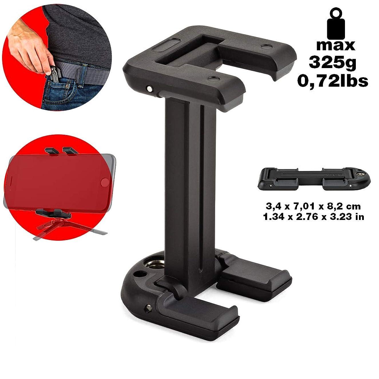 変な崖レンズJoby スマートフォン用アダプター グリップタイトONEマウント ブラック JB01490-0WW