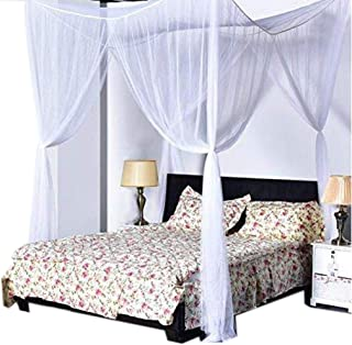 dalina Home-use Mosquito Net 4 Corner Post Bed Tent Bed Linings Bed Canopies & Drapes