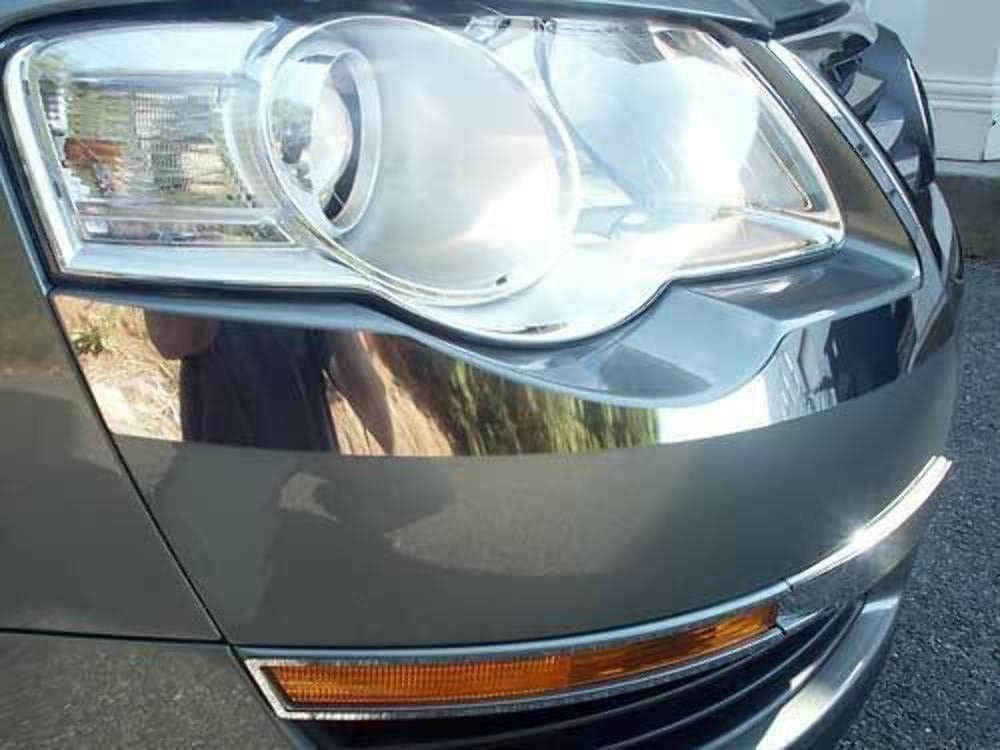 Daily bargain sale QAA fits 2006-2010 Volkswagen Max 51% OFF Passat Piece Stainless Ligh Head 2