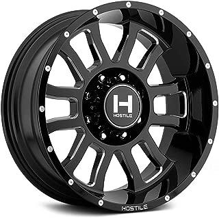 Hostile H107 Gauntlet 22x14 8x170 -76mm Black/Milled Wheel Rim