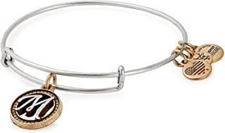 Alex and Ani Womens Initial M Charm Bangle