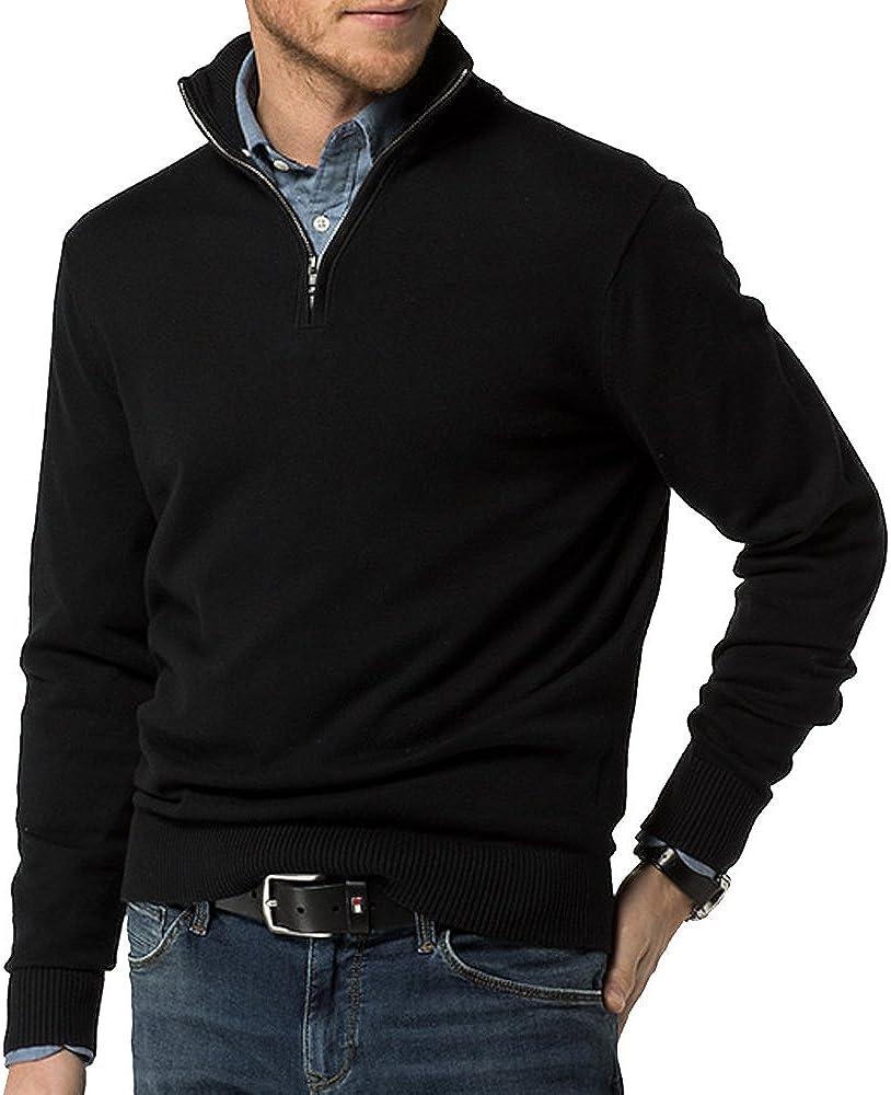 Just No Logo Men's Quarter Zip Pullover Sweater Regular Fit