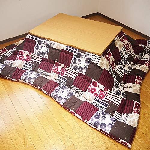 眠り姫 こたつ掛け布団 和格子Ⅱ 205×245 大判長方形 防ダニ 綿100% 掛布団 日本製
