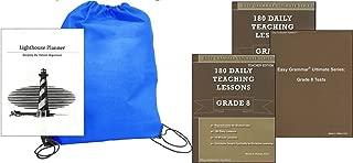 Ultimate Series Grade 8 SET homeschool kit in a bag