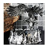 ZEH Ceniza de Bandeja de Cenizas Todas la Personalidad Metal Fashion Creative Home Decoration European Ashtray Retro Decoración Regalo de los Hombres 14.5x17x11x3cm □□□ FACAI