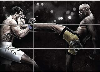 Doppelganger33 LTD Anderson DA Silva The Spider Mixed Martial Arts UFC Giant Poster Print NC6021