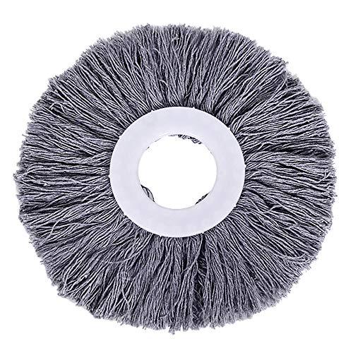 Cabezal Giratorio 360 de Repuesto Easy Magic Microfiber Spinning Floor Mop Head GY Suministros de Limpieza para el hogar y el jardín