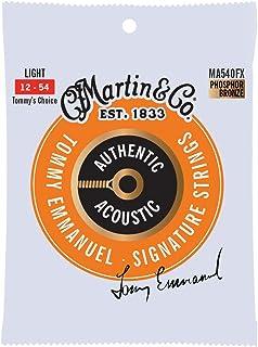 Martin Guitar Authentic Acoustic Flexible Core Tommy's Choice MA540FX, 92/8 Phosphor Bronze, Light Guitar Strings