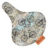 BikeCap - Funda para sillín de bicicleta (On The Road)
