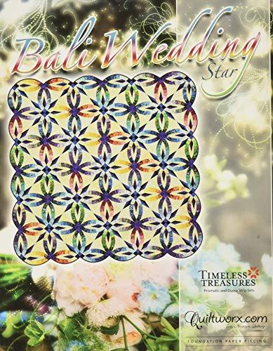 Quiltworx BCAC34102 Bali Wedding Star Pattern