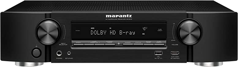 Marantz NR1510 UHD AV Receiver (2019 Model) – Slim 5.2 Channel Home Theater Amplifier, Dolby TrueHD and DTS-HD Master Audi...