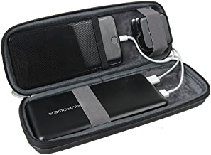 Hermitshell Hard EVA Travel Case Fits RAVPower 26800mAh/32000mAh External Battery Pack Power Bank