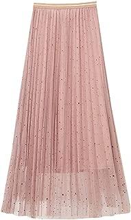 Qijinlook 💖 Faldas Tul Mujer/Faldas largas Fiesta Elegante, Falda ...