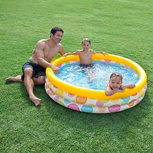 DFKDGL Piscina hinchable de 147 cm para nadar para niños pequeños y secos, para niños, para exteriores e interiores