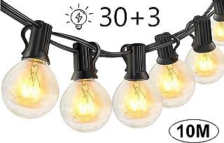Guirnaldas luminosas de exterior,LECLSTAR G40 Cadena de