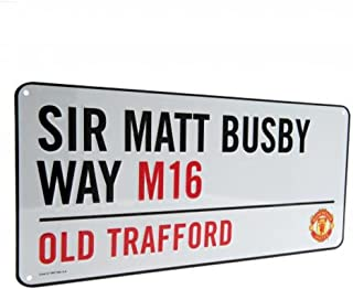 Manchester United FC Authentic Old Trafford Street Sign