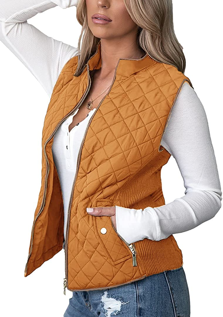 MIRACMODA Special price for a limited time Sales results No. 1 Women's Vest Padded Lightweight Collar Stand Outerwear