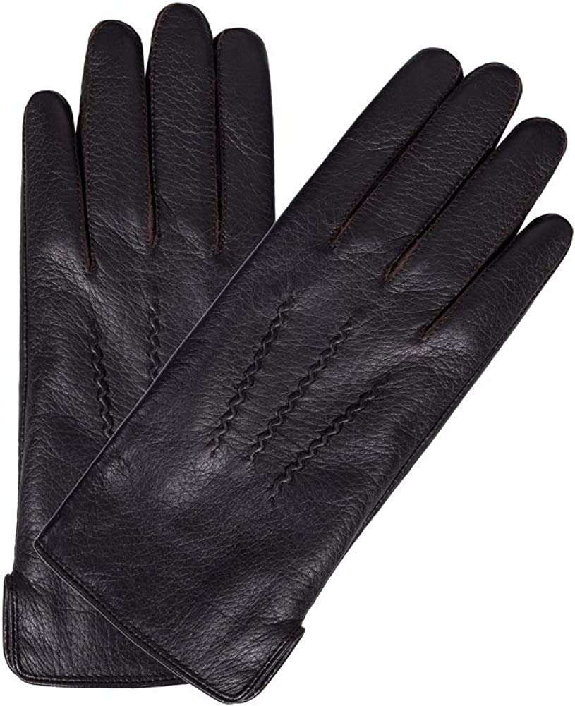 Intra-FIT Lady's Deerskin Leather Dressing Gloves, winter cold weather Lined