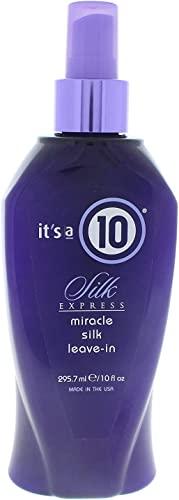 wholesale It's a 10 Haircare Silk Express Miracle Silk Leave-In Product, 10 fl. online sale oz. (Pack of wholesale 1) outlet online sale