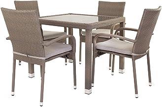 Amazon.es: conjunto mesa y sillas plastico jardin
