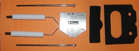 Beckett Burner Electrode Insulator Kit, Igniters AF AFG AR SF SR 5780 up to 9