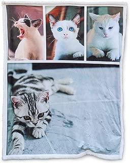 Best custom dog picture blanket Reviews