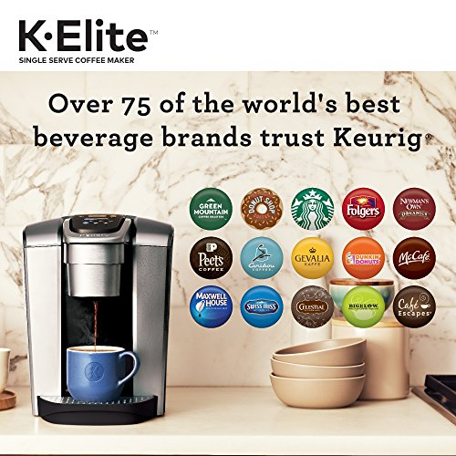 Keurig K-Elite Single Serve Coffee Maker with K-Cup