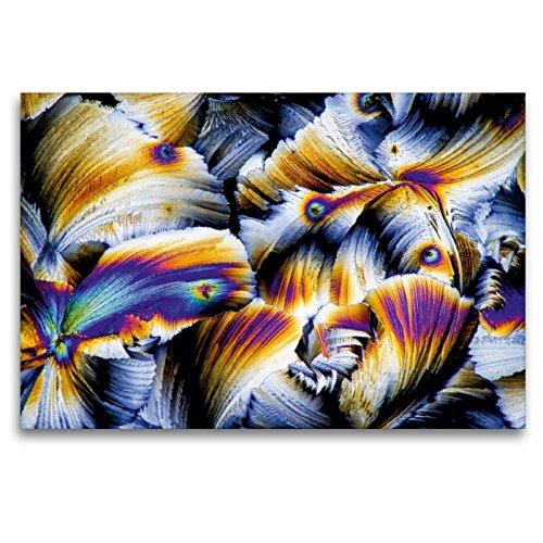 CALVENDO Premium Textil-Leinwand 120 x 80 cm Quer-Format Äpfelsäure mit Gibberellinsäure, Leinwanddruck von Thomas Becker