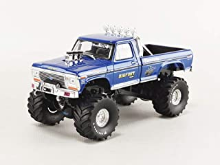 Greenlight 86097 1: 43 Bigfoot #1 The Original Monster Truck (1979) - 1974 Ford F-250 Monster Truck, Multi
