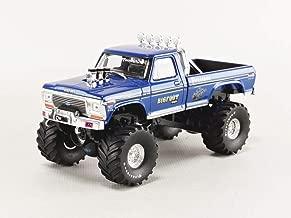 Greenlight 86097 1: 43 Bigfoot #1 The Original Monster Truck (1979) - 1974 Ford F-250 Monster Truck, Multi