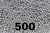 BC Precision 500 ct Silver Zinc Plated Metal BBS...