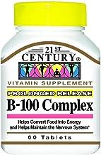 21st Century Vitamin B-100 Complex 60 Count (4 Pack)