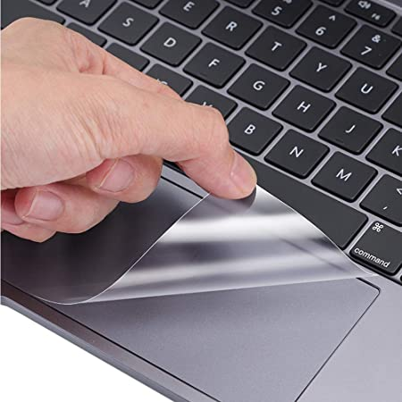 [2PCS] TrackPad Protector for 2020 MacBook Pro 13 Inch A2338 (M1) A2289 A2251 Track Pad Cover Skin for 2020 MacBook Pro 13.3 Inch A2338 A2289 A2251 with Touch Bar Touch ID Laptop Accessories, Clear