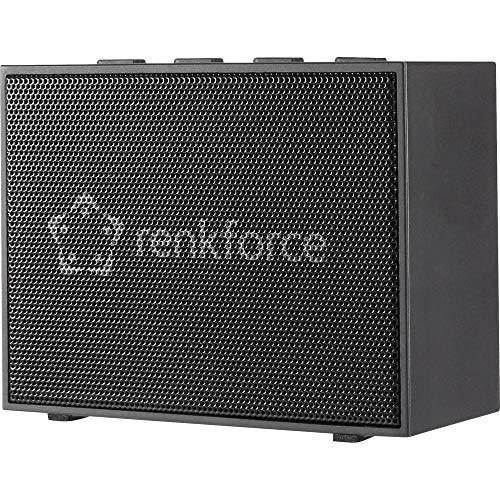 Renkforce BlackBox1 Bluetooth® Lautsprecher Freisprechfunktion, AUX Schwarz