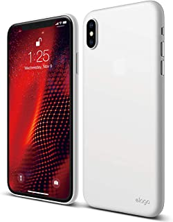 elago Inner Core Series for iPhone Xs Max case [White] – [Thinnest and Lightest][No Drop Protection - Not Hard Case][Support Wireless Charging][Minimalist CASE] Compatible with iPhone Xs Max (2018)