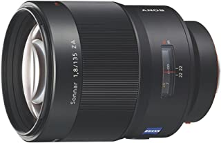 Sony SAL135F18Z, Tele Objektiv (135 mm, F1,8 ZA, Sonnar T*, A Mount Vollformat, geeignet für A99 Serie) schwarz