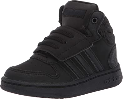 Amazon.com | adidas Toddlers' Hoops 2.0 Mid Basketball Shoes ...