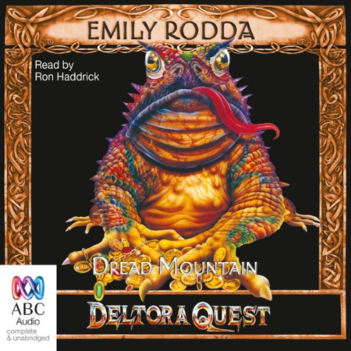 Dread Mountain audiobook cover art