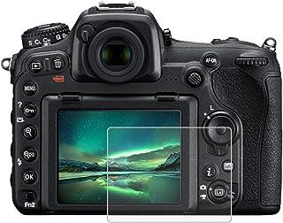 BYbrutek Protector de Pantalla de Vidrio Templado para Nikon D500/D600/D610/D7100/D7200/D750/D800 03 mm Dureza 9H sin Burbujas Antihuellas (D500/D600/D610/D7100/D7200/D750/D800)