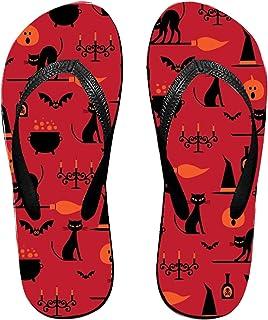e74c76146 Kefanlk Unisex Sandy Flat Funny Flip Flops Thong Sandals Fish Shells Slipper  Top Mat