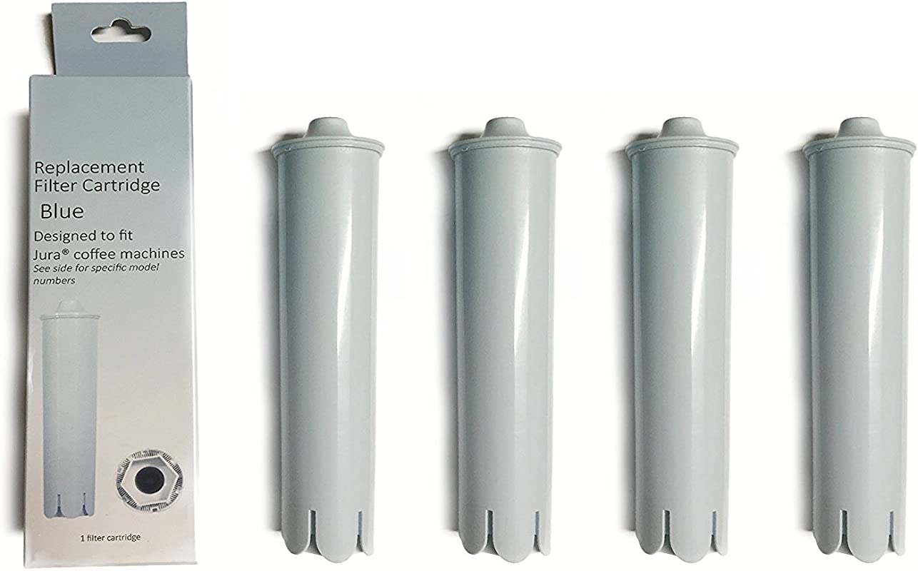 Water Filter Replacement Jura Clearyl Claris Blue 71445 Compatible For Coffee Maker 4 Filters