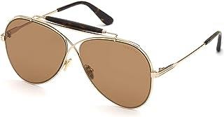 Tom Ford HOLDEN FT 0818 Shiny Rose Gold/Brown 60/11/145 unisex Sunglasses