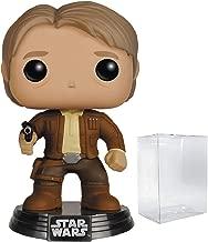 Star Wars: The Force Awakens - Han Solo Funko Pop! Vinyl Figure (Includes Compatible Pop Box Protector Case)
