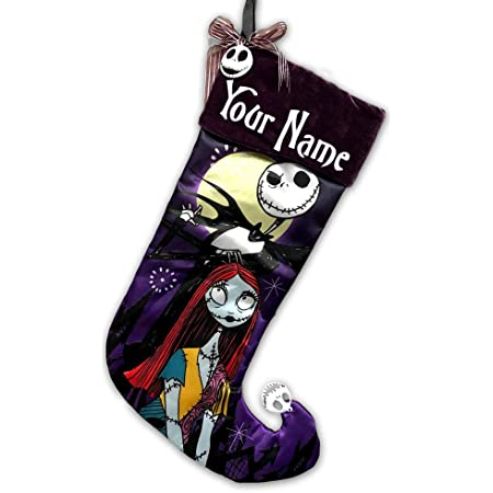 19 Inches KA Personalized Batman Christmas Stocking with Cape and Name