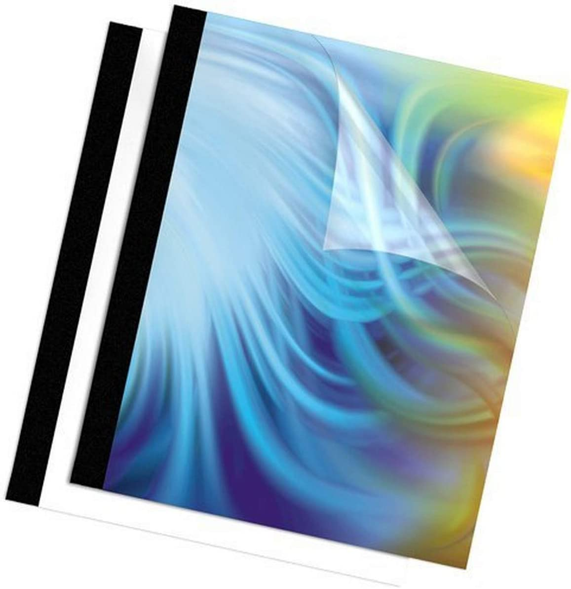 Fellowes Nashville-Davidson Mall Binding Thermal Presentation shipfree Covers 1 240 Black Inch