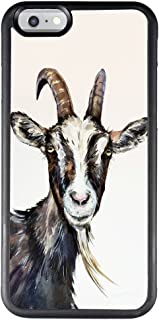 Case for iPhone 6s 6 Goat,ChyFS Phone Case ,PC and TPU Black protective Case