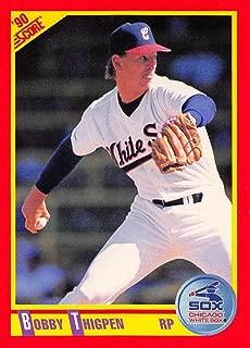 1990 Score #335 Bobby Thigpen White Sox