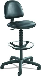 Safco 3406BV Task Chair, Black Vinyl