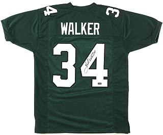 Herschel Walker Autographed Jersey - Green Custom - Autographed NFL Jerseys